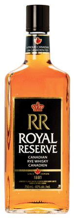 Corby Royal Reserve Rye Whisky 750ml