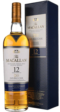 The Macallan Double Cask 12yr Old Single Malt Whisky 750ml