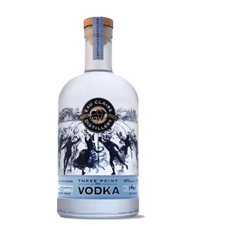 Eau Claire Distillery Three Point Vodka 750 ml