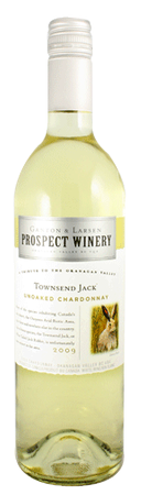 Prospect Winery Townsend Jack Unoaked Chardonnay 750mL
