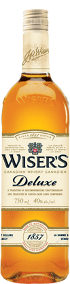 Wiser's Deluxe Canadian Whisky 750ml