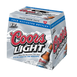 Coors Light Lager 12 x 341ml