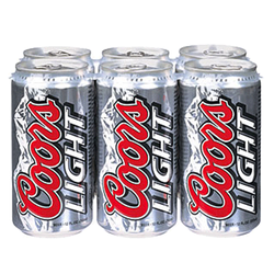 Coors Light Lager 6 x 355ml