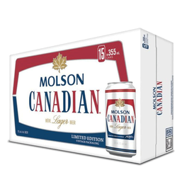 Molson Canadian Lager 15 x 355mll