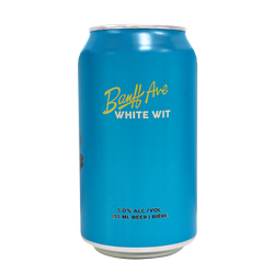 Banff Ave White Wit 6x355ml can