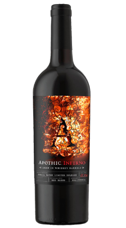 Apothic Inferno Whisky Barrel Aged Red Blend 750ml