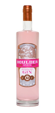 Boulder Spirits Grapefruit & Rose Pink Gin 750ml