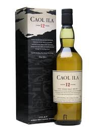 Caol Ila 12 Year Old Single Malt Scotch Whisky Islay 750ml