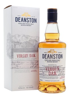 Deanston Virgin Oak Single Malt Scotch Whisky Highlands 750ml