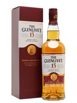 Glenlivet 15 Year Old French Oak Single Malt Scotch Whisky Speyside 750ml