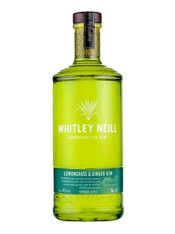 Whitley Neill Lemongrass Ginger Gin 750ml