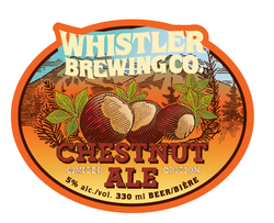 Whistler Brewing Chestnut Ale 6x355ml can