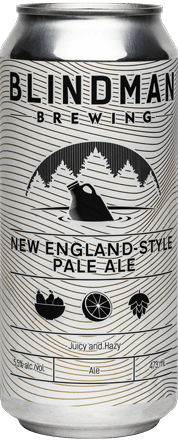 Blindman Brewing New England Pale Ale 4 x 473 mL