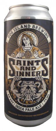 Dog Island Brewing Saints & Sinners India Pale Ale 473ml can