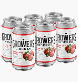 Growers Apple Dry Cider 6 x 355ml can