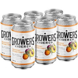 Growers Harvest Stone Fruit Cider 6 x 355ml Can