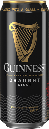 Guinness Draught Stout 500ml can