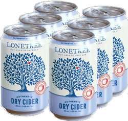Lonetree Authentic Dry Cider 6 x 355ml