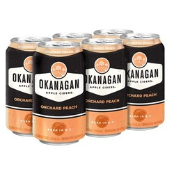 Okanagan Orchard Peach Cider 6 x 355ml