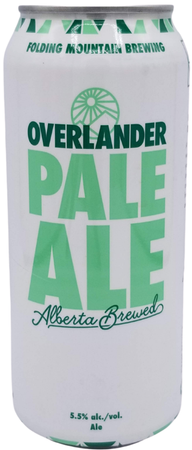 Folding Mountain Overlander Pale Ale 473ml can
