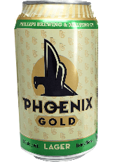 Phillips Brewing Co. Phoenix Gold Lager 12pk 12 x 355ml