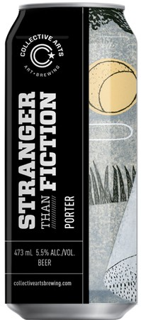 Collective Arts Brewing Ltd. Stranger Than Fiction Porter 473ml