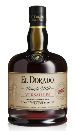 El Dorado Single Still Versaillies Guyana Rum 750ml