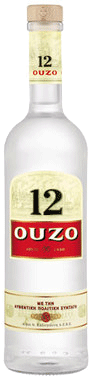 Ouzo 12 Licorice Liqueur 750ml