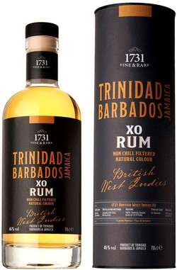 1731 British West Indies XO Caribbean Rum 700ml