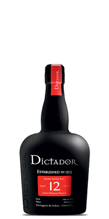 Dictador 12yr Old Rum 750ml