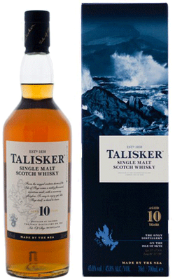 Talisker 10yr Old Scotch Whisky 750ml