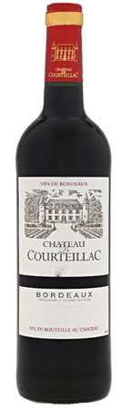 Chateau De Courteillac Bourdeaux Red Blend 750ml