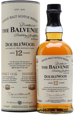 The Balvenie Doublewood Scotch Whisky 750ml