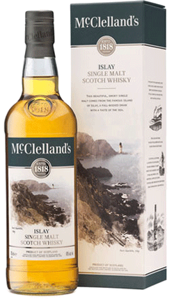 Mcclelland's Islay Single Malt Scotch Whisky Islay 750ml
