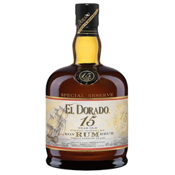 El Dorado 15Yr Old Rum 750ml