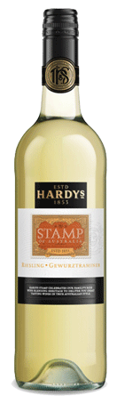 Hardys Stamps Series Gewurztraminer/ Riesling 750ml