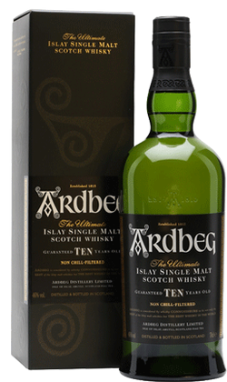 Ardbeg Islay 10yr Old Scotch Whisky 750ml