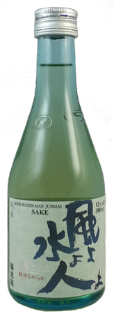 Wind Water Man Junmai Sake 300 mL