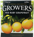 Growers Red Ruby Grapefruit 6 x 330ml