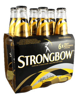 Strongbow British Dry Apple Cider 6 x 330ml