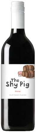 The Shy Pig Shiraz 750ml