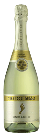 Barefoot Bubbly Pinot Grigio Sparkling Wine 750ml