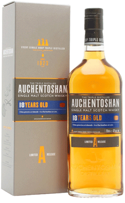 Auchentoshan 18 Yr. Old Single Malt Whisky 750ml