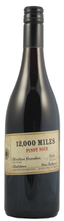 Gladstone Vineyard 12000 Miles Pinot Noir 750ml