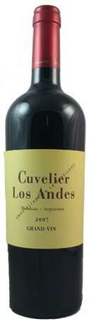 Cuvelier Los Andes Grand Vin 2007 Red Blend 750ml