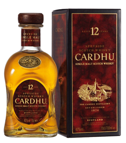 Cardhu 12yr Old Scotch Whisky 750ml