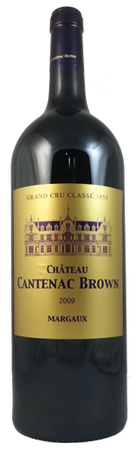 Chateau Cantenac Brown Grand Cru Classe Margaux 2010 1500ml