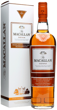 The Macallan '1824 Sienna' Single Malt Whisky 750ml