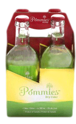 Pommies Dry Apple Cider 4 x 355ml