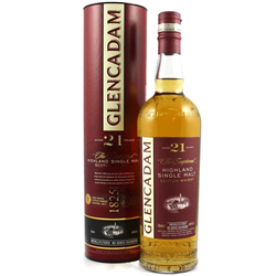 Glencadam 21yr Old Scotch Whisky 700ml